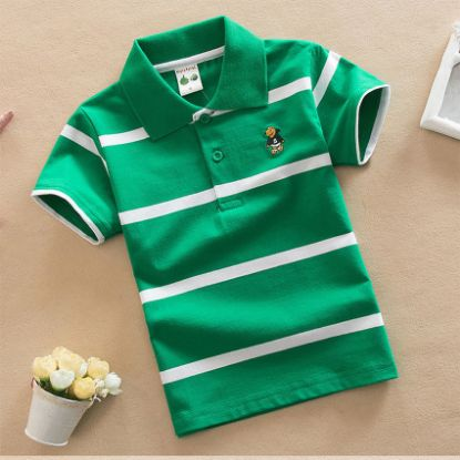 Picture of Short Sleeve Polo Shirts for Boys