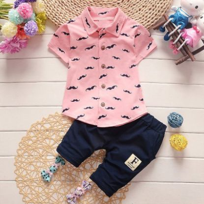 Picture of Boy Clothing Sets Beebe Fashion-shirt